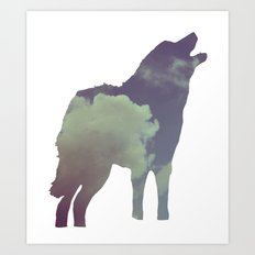 The Wolf (Jannika Edition) Art Print