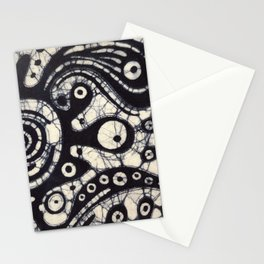 Abstract Batik 2 Stationery Cards