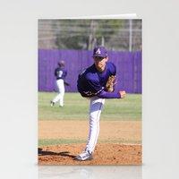 baseball Stationery Cards featuring Baseball  by Kali