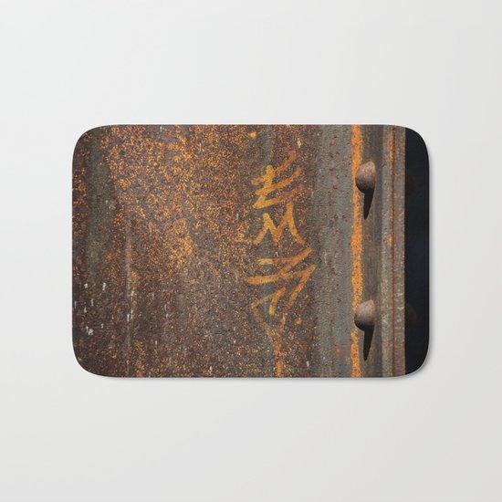 Raw Steel Bath Mat