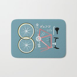 Bike Bits Bath Mat