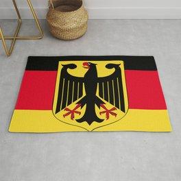 Germany flag emblem Rug