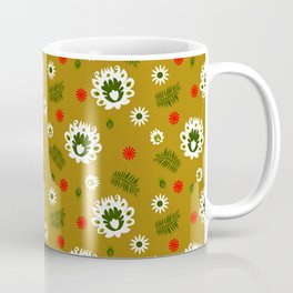 Folk flowers and honey Coffee Mug