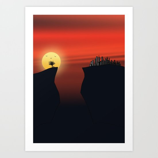 Escape v.2 Art Print