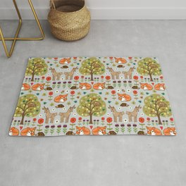Woodland Wild Things Rug