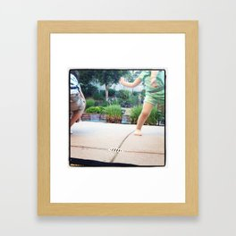 Interpretive Dance Framed Art Print