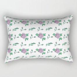 Pink Floral repeating pattern Rectangular Pillow