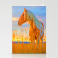 mustang Stationery Cards featuring Mustang by DigitalAndPhoto