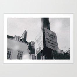 The Saddest Street In London Art Print