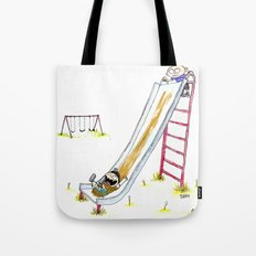 Mud Slide Tote Bag
