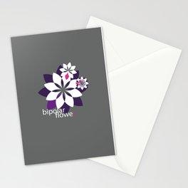 Bipolar Flower Stationery Cards