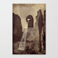 doom Canvas Prints featuring doom! by Pope Saint Victor