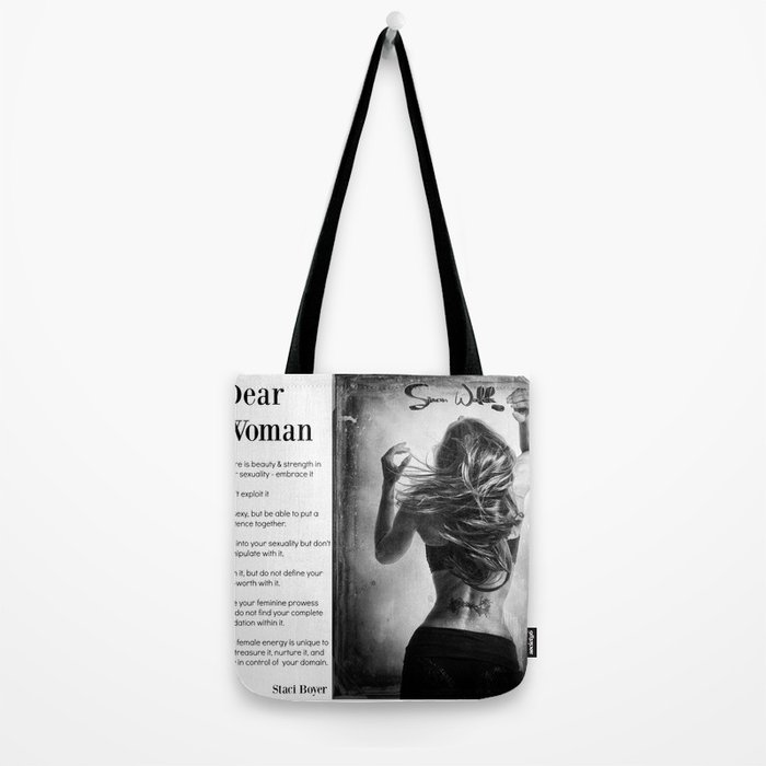 Dear Woman - Respect yourself Tote Bag