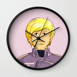 Genevieve Armstrong Wall Clock