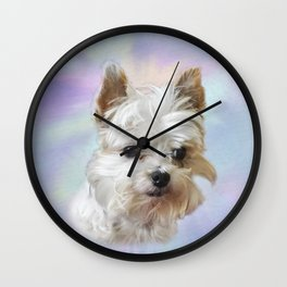 Waiting for a Cookie Wall Clock