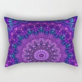 Harmony in Purple Rectangular Pillow