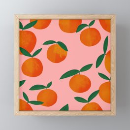 MANGO MANGO MANGO Framed Mini Art Print