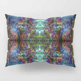 Trippy Kalidescope Pattern Pillow Sham