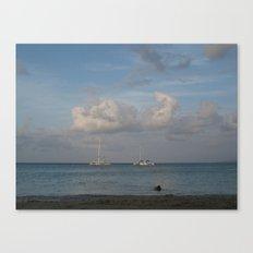 Jamaica - Sailing on the Seas Canvas Print