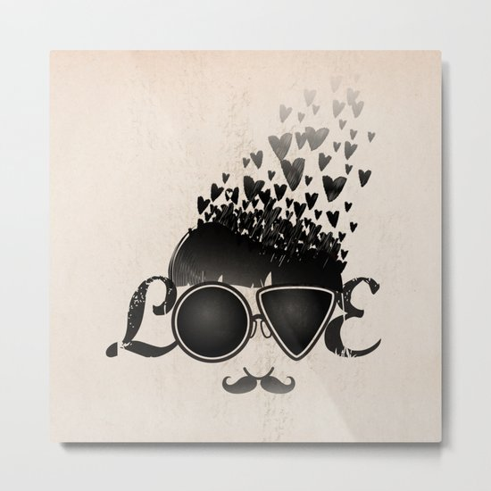 Blind Love Metal Print