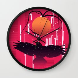 Cosmic Horror Wall Clock