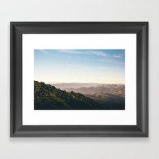 Mt. Tam Framed Art Print