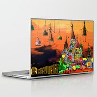 moscow Laptop & iPad Skins featuring Moscow  by sladja