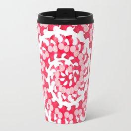 Candy Cane Spiral Travel Mug