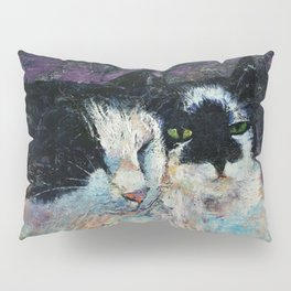 Two Cats Pillow Sham