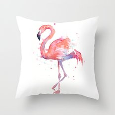 Flamingo Throw Pillow