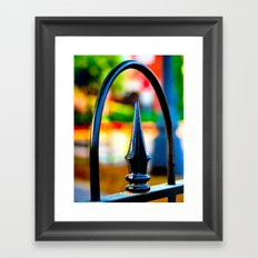 Ornamental Iron Framed Art Print