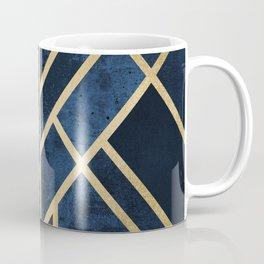 Art Deco Midnight Coffee Mug