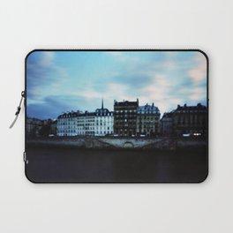 Paris at Dusk: Ile de la Cite Laptop Sleeve