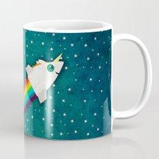 Unicorn Rainbow Rocket Mug