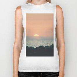 Sunset Ocean Bliss #2 #nature #art #society6 Biker Tank