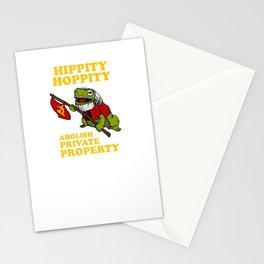 Hippity Hoppity Abolish Private Property Stationery Cards