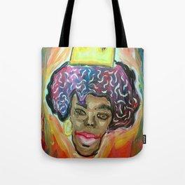 Melanin Crown Tote Bag