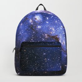 Blue Embrionic Stars Backpack