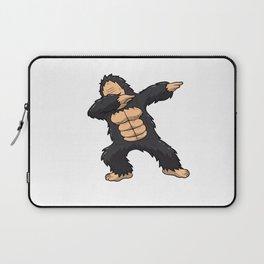 Dabbing Gorilla Shirt Ape Monkey Big Foot Dab Kids Laptop Sleeve