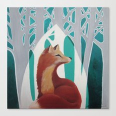 Fox Cathedral Canvas Print
