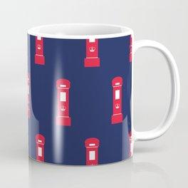 Red British post box Coffee Mug