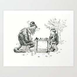 The Game Art Print
