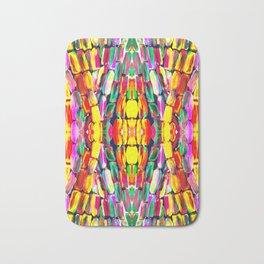 New Watermelon Sugarcane Pattern Bath Mat