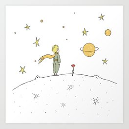 Little Prince II Art Print