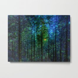 Mystery Forest Metal Print