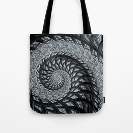 The Daily News - Fractal Art Tote Bag