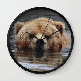 Bear20150803 Wall Clock