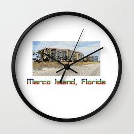 Marco Island, Florida 6 Wall Clock