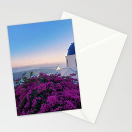 The Beauty of Santorini Stationery Cards