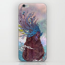 Journeying Spirit (Bear) iPhone Skin